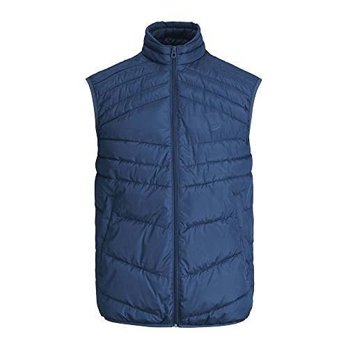 color ESTATE JACK JONES Hombre LANDING JORNEW BODYWARMER 12131247 talla BLUE JACK M and JONES 6Z6Rwqz