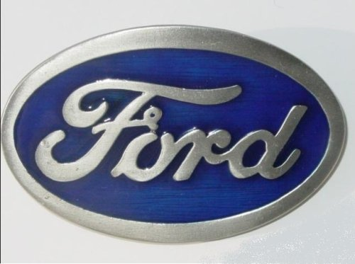 FORD Logo Belt Buckle Pewter 3D Mustang - Ford Belt Buckle Shopping Results
