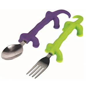 Fred & Friends DINNERSAURS Fork and Spoon Set
