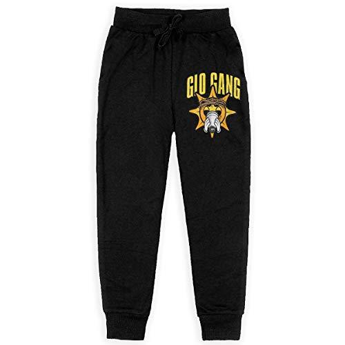 (IkedaEriko Teenagers Chief Keef Music Band Teen Sweatpants Stretch Jogger Pants Back Pocket)