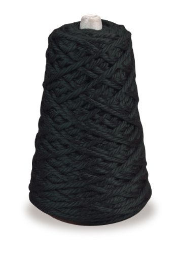 Trait-tex 4-Ply Jumbo Roving Yarn Refill Cone, Black, 87 (Pacon Acrylic Roving Yarn)