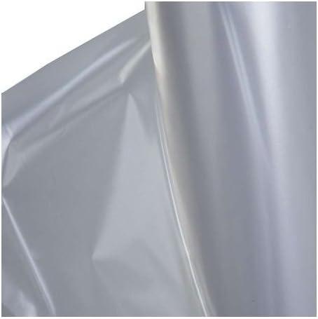 100m/² 2x Baufolie Typ 200 4m x 25m Schutzfolie Abdeckfolie Estrichfolie Bauplane transparent