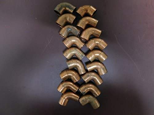 - EPC Set of 18, Copper Fitting 90 Degree 1/2-5/8
