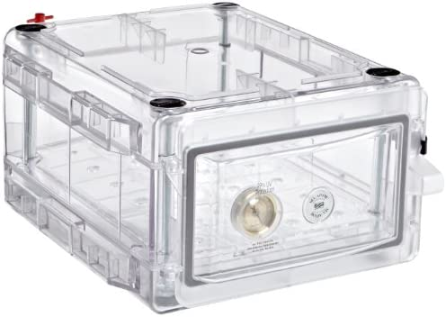 Bel-Art Secador Clear 1.0 Gas-Purge Desiccator Cabinet; 0.7 cu. ft. (F42071-0002): Science Lab Desiccator Accessories: Amazon.com: Office Products