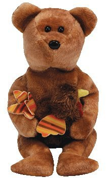 Ty Beanie Babies - Pilgrim the Bear (Internet Exclusive)