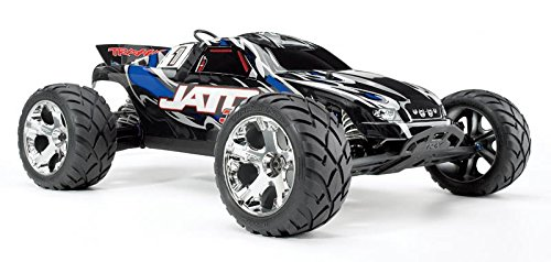 Traxxas Jato 3.3: 1/10 Scale Nitro-Powered 2WD Stadium Truck with TQi 2.4GHz Radio and TSM, Blue