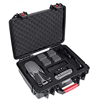 Smatree Waterproof Carrying Case Compatible for DJI Mavic 2 Pro/DJI Mavic 2 Zoom Fly More Combo with Remote Controller(NOT for Smart Controller)