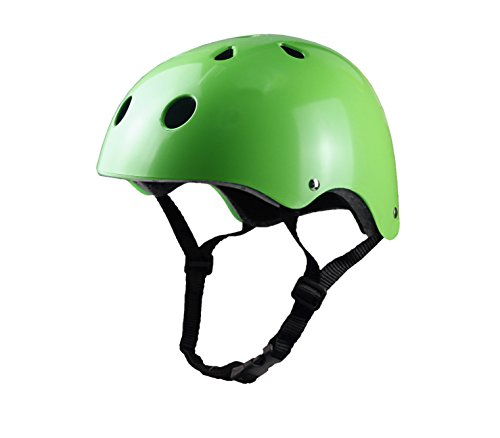 Tourdarson Adult Skateboard Helmet Specialized Certified Protection Sport for Scooter Skate Skateboarding Cycling (Green,Large) by Tourdarson