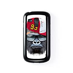 Gorilla withCap Black Hard Plastic Case for Samsung? Galaxy S3 Mini by Gangtoyz + FREE Crystal Clear Screen Protector