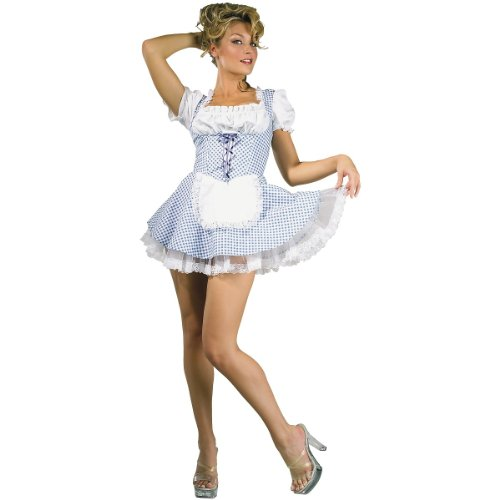 [Country Girl - Medium - Dress Size 10-12] (Country Girl Halloween Costumes)