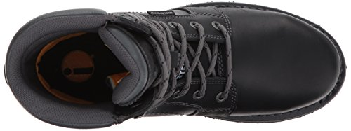 and Echo Women's ST Construction Black Industrial Black Shoe Waterproof Caterpillar B6YxqCwnn