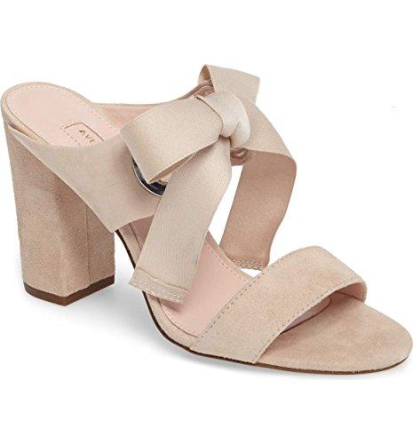 Avec Les Filles by Joyce Azria Megan Ribbon Tie Sandal (Bamboo) Size 7.5