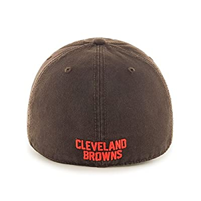 NFL Cleveland Browns Franchise Fitted Hat, Large, Brown