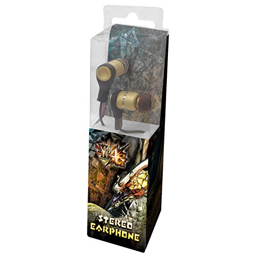 Monster Hunter 4G Stereo Earphone (canal type)
