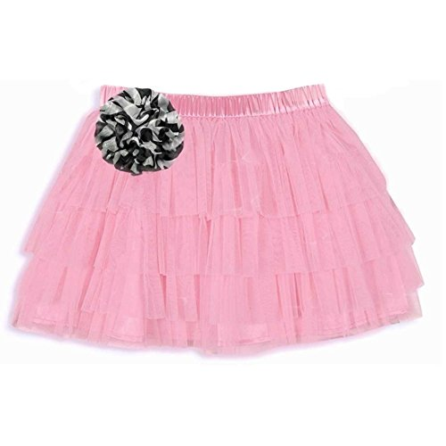 Baby Boutique® Pink Tutu Skirt with Zebra Print Embellishment, Size: 2T