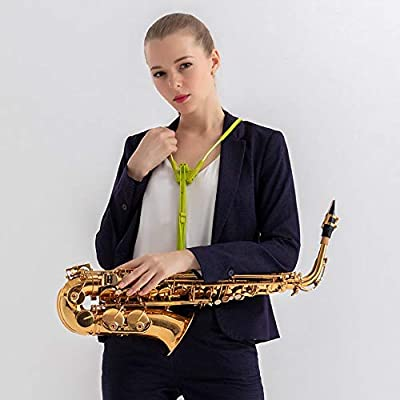 Arnés para saxofón, instrumento musical, correa para el cuello ...