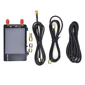 Vector Network Analyzer 50Khz~300Mhz HF VHF Antenna Analyzer Portable Digital Network Analyzer Kit with 2.8 Inch Screen