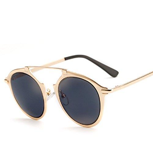 Embryform lunettes de soleil en métal personnalisés mode femme Yourte Noir