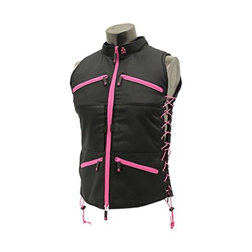 UTG True Huntress Female Sporting Vest, Black/Pink