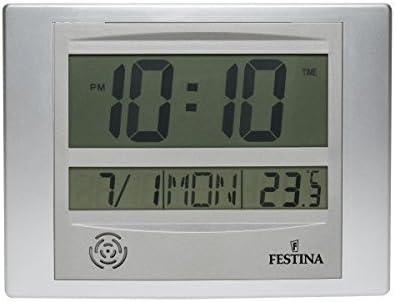 Festina - Reloj digital de pared o sobremesa FD0065/A: Amazon.es ...