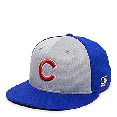 Chicago Cubs Alternate 2-Tone MLB Mesh Replica Adjustable Baseball Cap Hat (Adult 7-7 1/2 Ages 12 and Up)