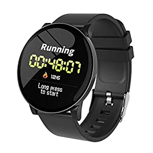 Bilton W8 Smart Watch 2020 Men Women Wristwatch Sport Fitness Tracker Waterproof Wristband Heart Rate Monitor Smartwatch TB-001