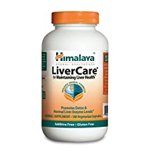 Himalaya Herbal Healthcare LiverCare/Liv.52, Liver Support, 180 Vcaps - Economy