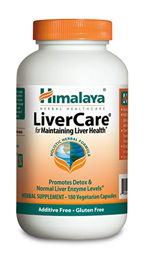 Himalaya LiverCare/Liv. 52  for Liver Cleanse and Liver Detox 375 mg, 180 Capsules, 90 Day Supply