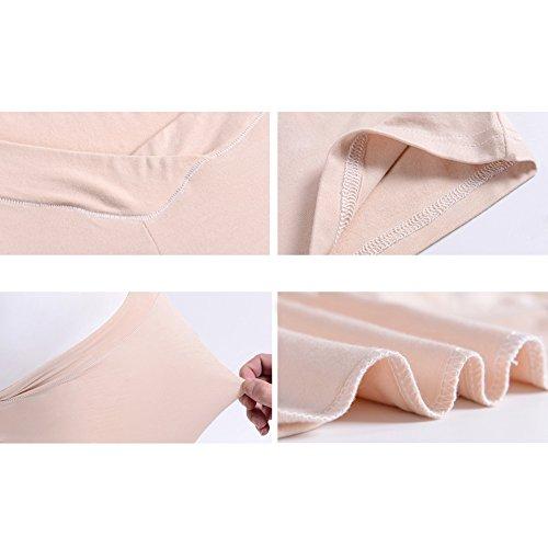 MEIHAOWEI Pantalones de seguridad para mujeres embarazadas Summerw Mujeres embarazadas Mujeres Íntimas Intima Ropa interior Piel