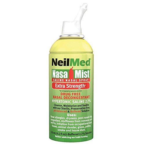 NeilMed Strength NasaMist Saline Decongestant
