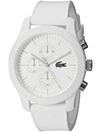 Men's 2010823 12.12 Analog Display Quartz White Watch
