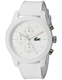 Lacoste Men's 2010823-12.12 White/White Watch