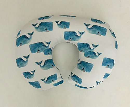 Nursing Pillow Cover - Whale Pods