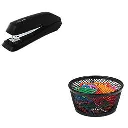 KITROL62562SWI54501 - Value Kit - Rolodex Jumbo Nestable Paper Clip Dish (ROL62562) and Swingline Standard Strip Desk Stapler (SWI54501)
