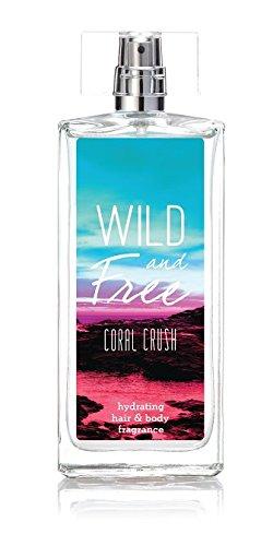 Wild and Free Hydrating Hair & Body Fragrance, 3.4 oz - Coral - Crush Coastal