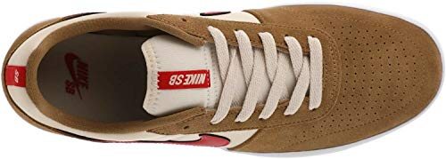 Nike Unisex SB Skateboard Team Classic Shoes Beige Red Size 11 Men 12.5 Women