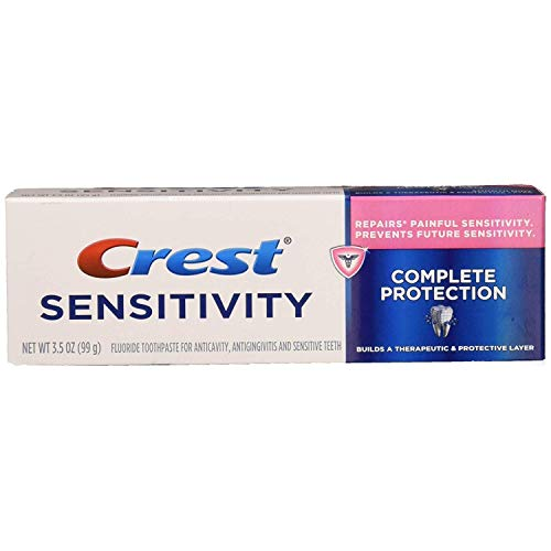 Crest Sensitivity Complete Protection Toothpaste, Smooth Mint, 3.5 oz (Pack of 2)
