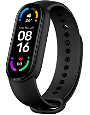 For Xiaomi Mi Band 6 1.56'' Screen Display Smart Bracelet Blood Oxygen Fitness Tracker Heart Rate Monitor Bluetooth Smart Band