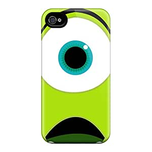 Shock Absorbent Hard Phone Cases For Iphone 6plus (RlL12854UWlX) Support Personal Customs Realistic Monsters University Mike Wazowski Image
