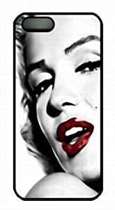 Hot Monroe Case For Sam Sung Galaxy S4 I9500 Cover Premium s - PC Black Case For Sam Sung Galaxy S4 I9500 Cover