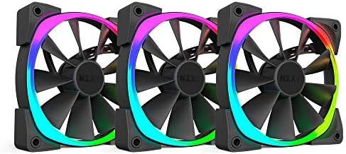 NZXT - Ventilador Ordenador Triple con led RGB de 120mm (RF-AR120-T1): Amazon.es: Informática