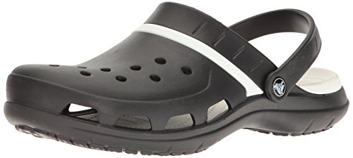 Zoccolo Misti Adulto Nero bianco Zoccoli Modi Sport Crocs aqwzZC