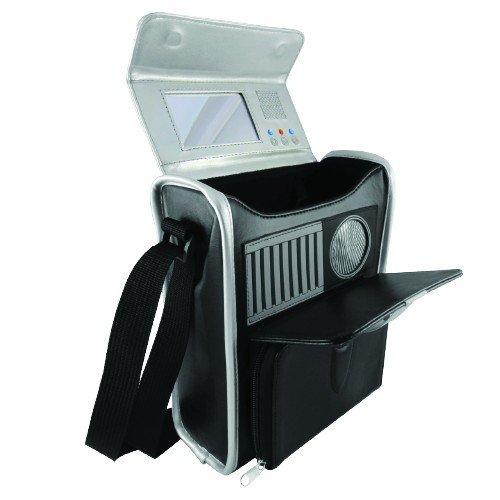 Star Trek Tricorder Replica Hard Case Black Small Messenger Bag