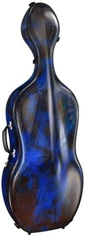 Accord Medium Ultra Light Cello Case 3D Green