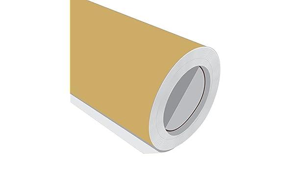 3 Metre (3 m) rollo de HD Oro Mate 610 mm de ancho Vinilo autoadhesivo: Amazon.es: Hogar