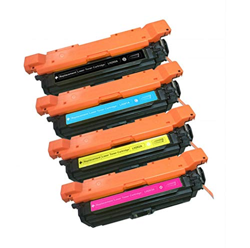 Y&Jack Compatible con HP 651a Cartucho de tóner HP 700/m775dn Color Cartucho de tóner Ce340a Ce343a