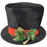 Puntale per Albero di Natale a forma di Cappello a Cilindro  Amazon ... 48000e13904d