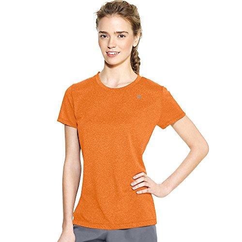 Champion Powertrain Short Sleeve Womens Tee Shirt 7963_Orange Wedge Heather_L