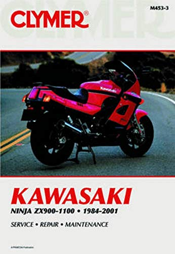 Clymer Kawasaki Ninja ZX900-1100 CLYMER MOTORCYCLE REPAIR ...