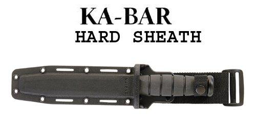 KA-BAR 3-1216N2K-8 Kydex Sheath, Black, Outdoor Stuffs
